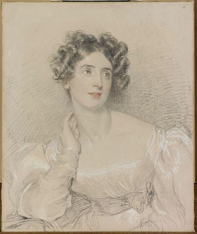 Portrait de Madame Ducret de Villeneuve