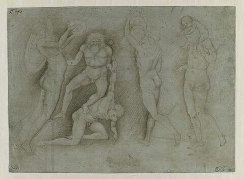 Thiase bacchique, étude d'après l'antique
