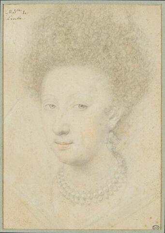 Portrait de mademoiselle de Leville