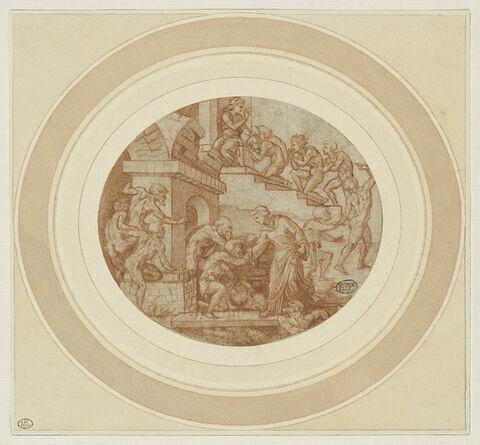 Saint Léonard visitant des prisonniers ( ? )