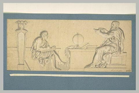 L'Education d'Hercule par Linos