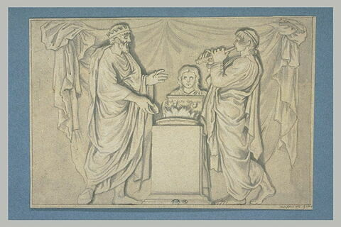 Le Sacrifice offert par Créon lors du mariage d'Hercule et Mégara
