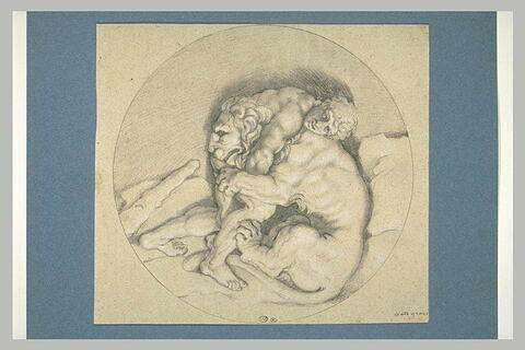 Hercule et le lion du Cithéron