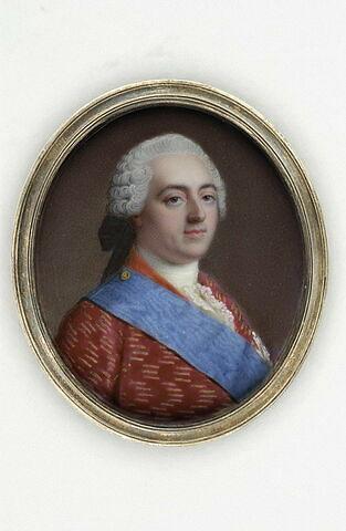 Portrait de Louis XV en buste