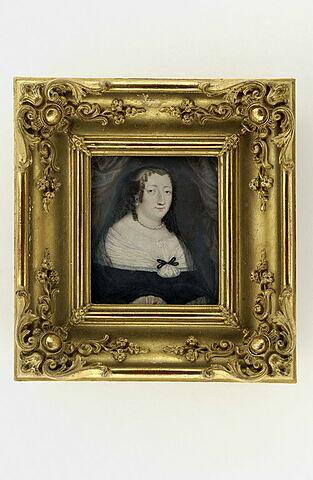 Portrait d'Anne d'Autriche, à mi-corps