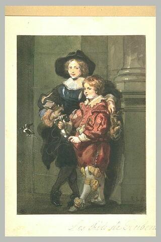 Les deux fils de Rubens