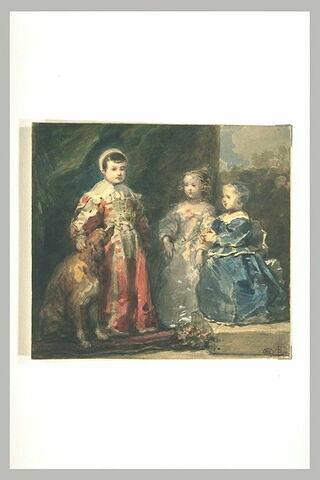 Les trois fils de Charles Ier