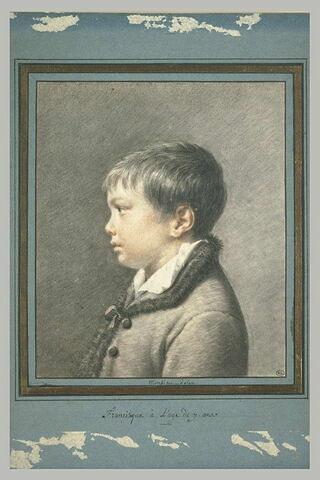 Portrait de son fils