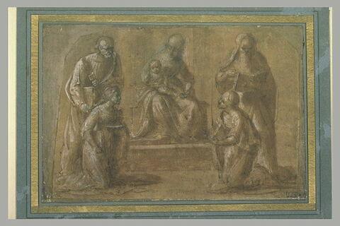 La Vierge à l'Enfant entre les saints Pierre, Lucie, Jérôme et Elisabeth