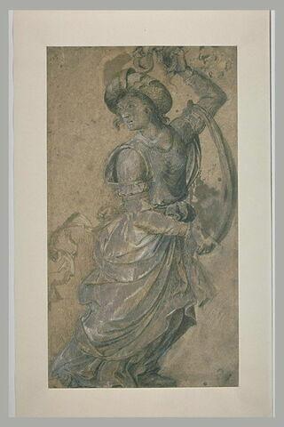 Femme drapée, debout, s'avançant vers la droite (Sibylle?)
