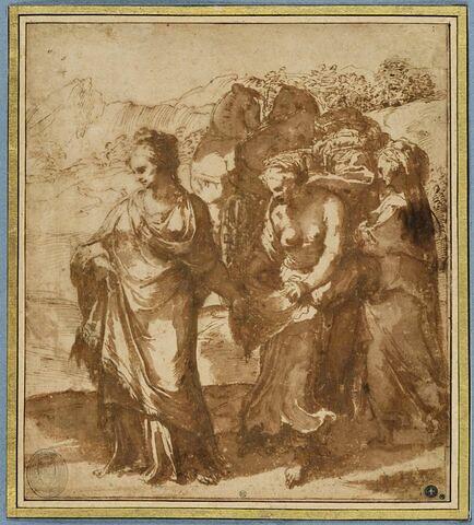 Nausicaa et ses servantes