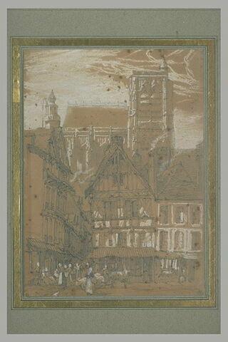 L'église Saint-Wulfran à Abbeville