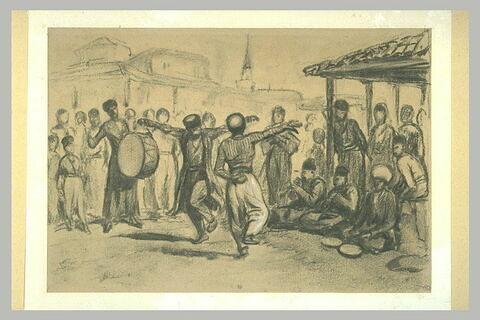 Circassiens dansant