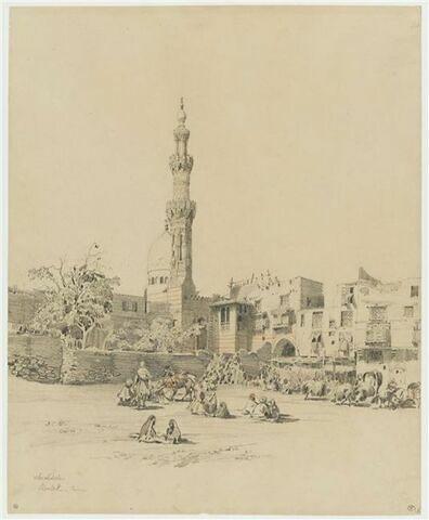 Vue de Boulak au Caire