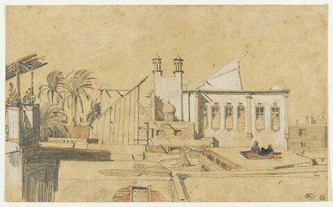 Terrasse d'une maison en Egypte