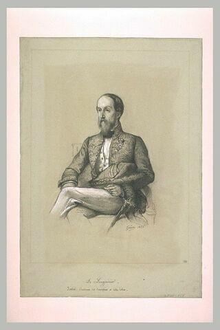 Portrait de M. Longpérier, académicien