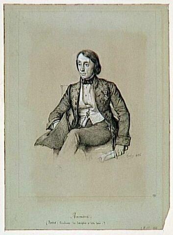 Portrait de M. Ravaisson, académicien