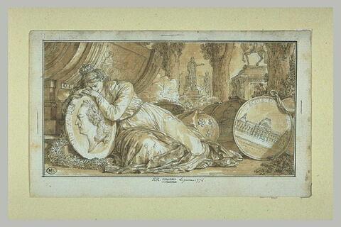 La France pleurant Louis XV