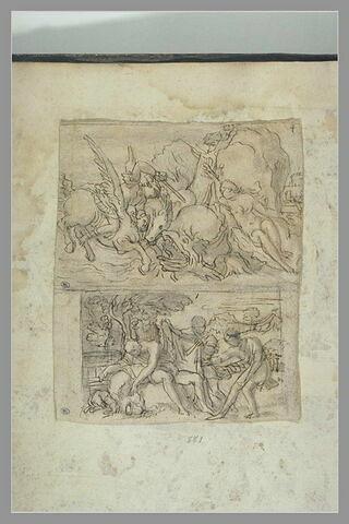 Persée et Andromède ; l'Ivresse de Noé