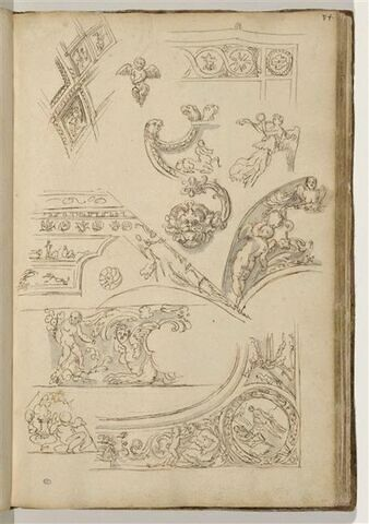 Etudes de motifs décoratifs