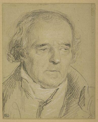 Portrait de Baguet père, paysagiste