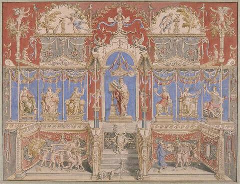 Modèle de tapisserie : la Philosophie