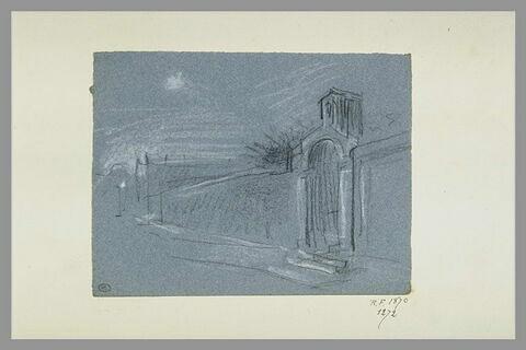 Mur de monastère