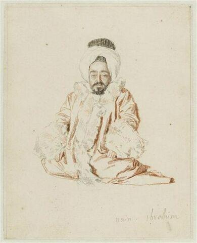 Portrait du nain Ibrahim