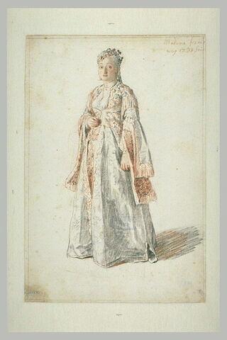Portrait de Madame James Fremeaux née Margaret Cooke, Smyrne