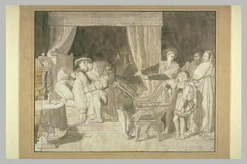 La mort de Léonard de Vinci