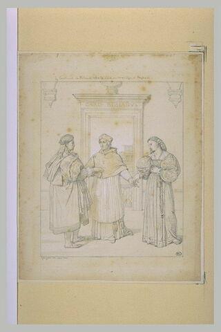 Le Cardinal Bibbiena offrant sa nièce en mariage à Raphaël