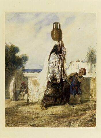 Femme de Smyrne revenant de la fontaine