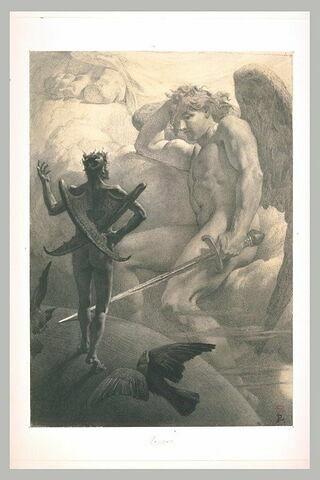 L'archange Raphaël et Méphistophélès