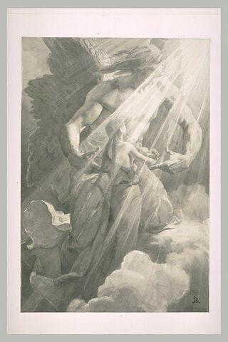 Marguerite enterrée par l'ange