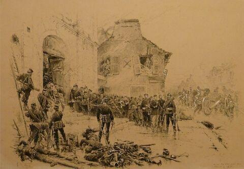 Episode du Bourget ou Le Bourget, 30 octobre 1870