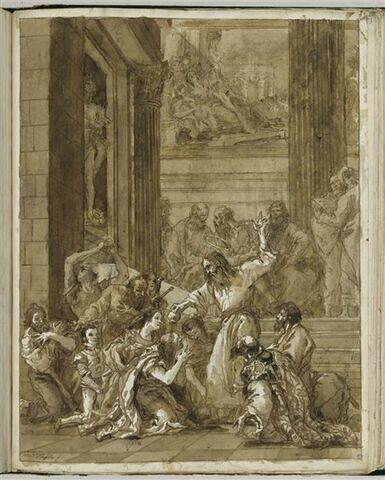 Saint Paul convertit Denis l'Aréopagite