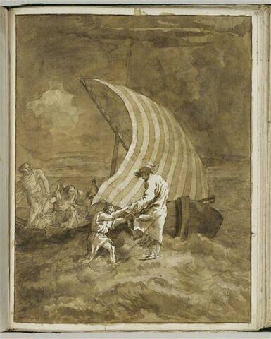 Jésus marchant sur les eaux