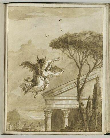 Jésus emporté par le Diable sur le pinacle