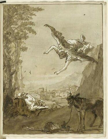 Un ange apparait à Joseph et l'invite à fuir