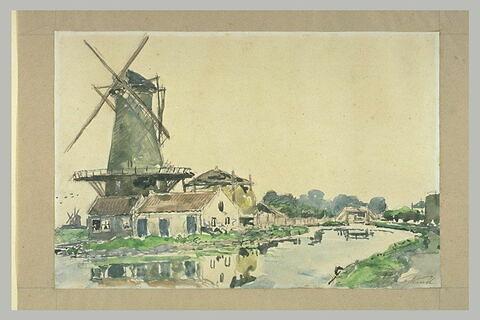 Moulin à Rotterdam