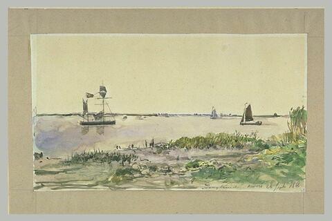 Bateaux de pêche à Anvers