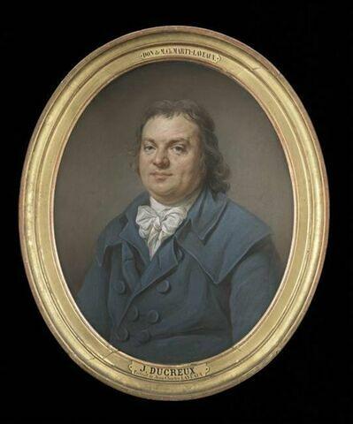 Portrait du grammairien Jean Charles Thibault de Laveaux ( 1749-1827).