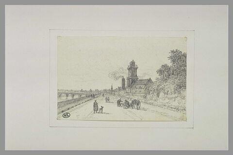 Vue de la Seine par les quais