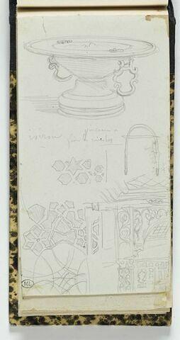 Mont Athos, mobilier et mosaïque du couvent d'Iviron