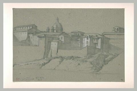 Vue de la ville de Naples