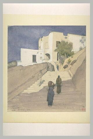 Escalier dans Amalfi
