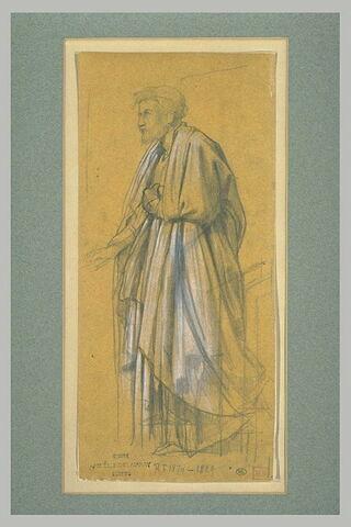 Homme drapé, tourné à gauche Joseph