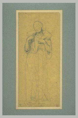 Le Christ portant un agneau sur les épaules