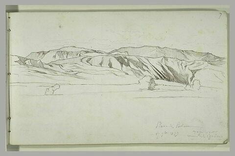 Paysage de la plaine de Paestum
