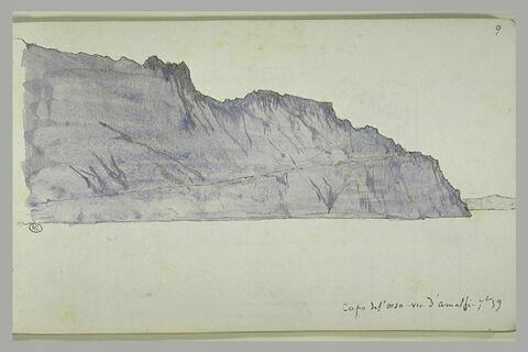 D'Amalfi, vue de Capo del Orso